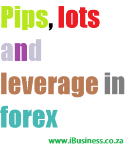 Pips, Lots and Leverage