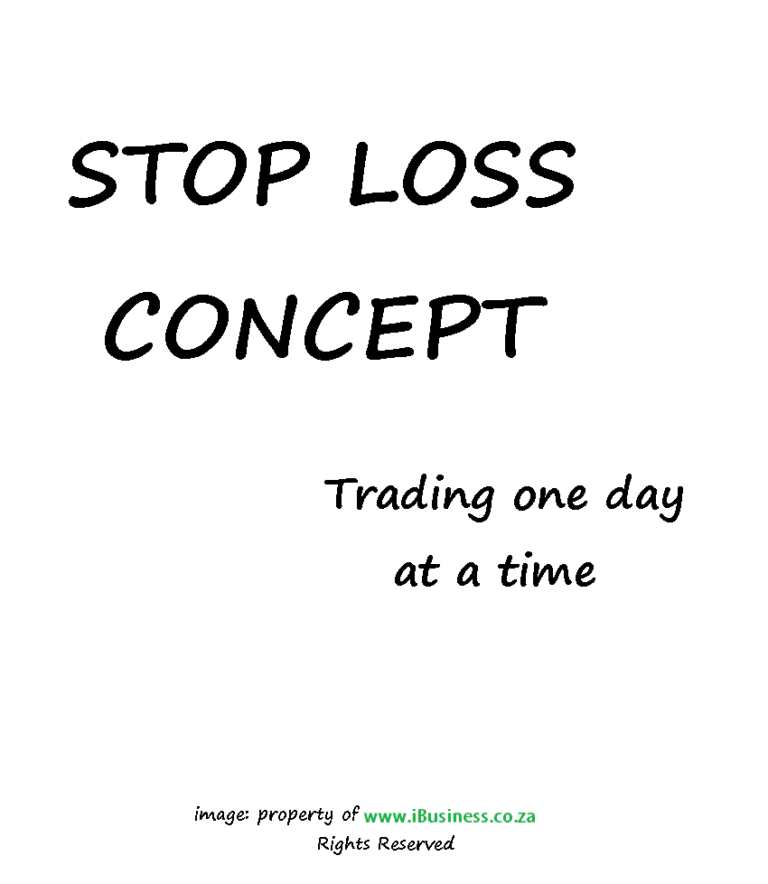 Stop-Loss in forex