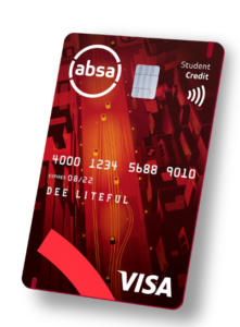 Absa student credit card