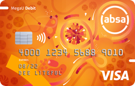Absa MegaU Youth Debit Card