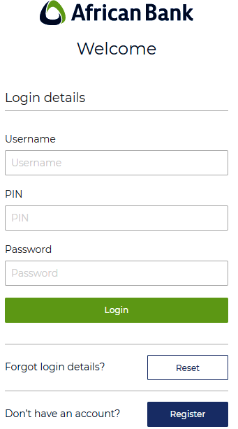 African Bank Online Banking