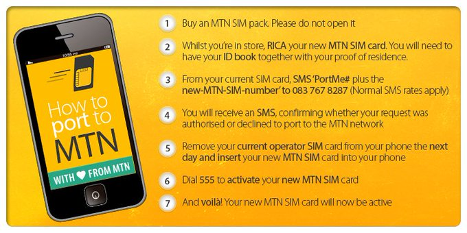 Port to MTN (Moving to MTN)
