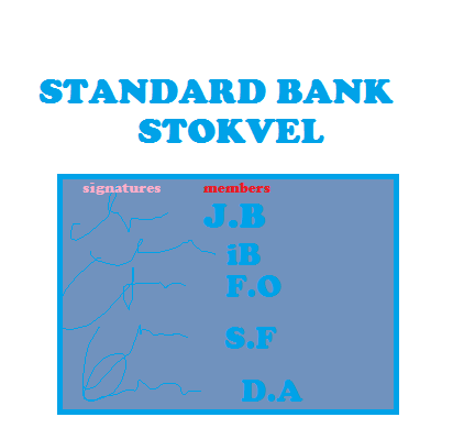 Standard Bank Stokvel Account