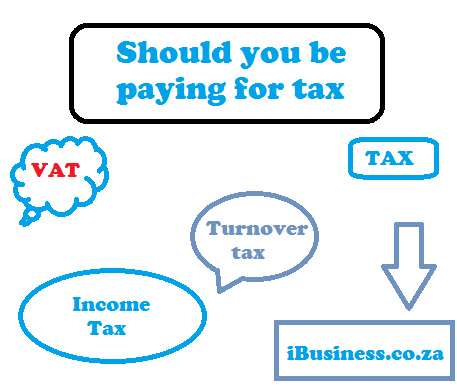Who should be paying for tax?
