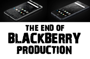 The end of blackberry production